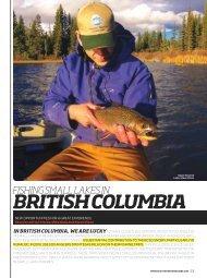 BrItIsh ColumBIa - Freshwater Fisheries Society of BC