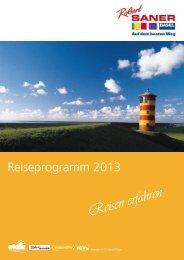 Reisen erfahren - Robert Saner :: Carreisen AG