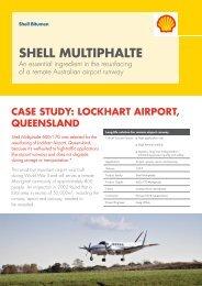 Shell Bitumen - Shell Multiphalte - Lockhart Airport Case Study