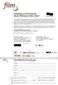 """Neues Filmevent in Köln: """"Film+"""" mit 3. Schnitt Preis (29. – 30.11.2001) - Seite 2"""