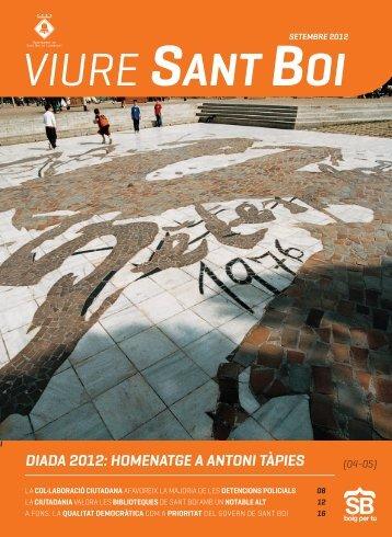 DIADA 2012: HOMENATGE A ANTONI TÀPIES - Ajuntament de ...