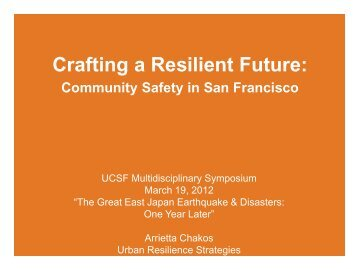 Building Individual and Community Resilience - Global Health ...