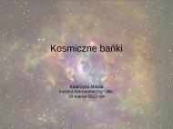 Kosmiczne bańki - KNSA