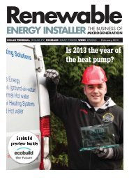 Renewable Energy Installer Magazine - Nottingham Energy ...