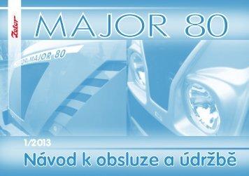 Major 80 2013 CZ.pdf - CALS servis sro