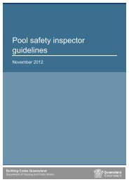 Pool safety inspector guidelines - Department of Housing and Public ...
