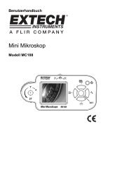 Mini Mikroskop - Extech Instruments