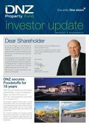 DNZ Investor Update September 2011 - DNZ Property Fund