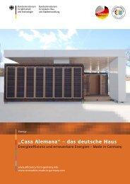 Casa Alemana - Exportinitiative Erneuerbare Energien - BMWi