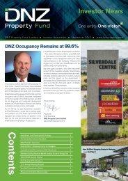 Investor News - DNZ Property Fund