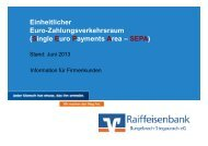 Single Euro Payments Area – SEPA