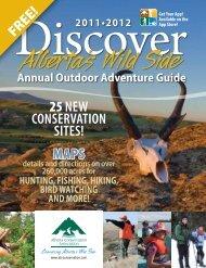 25NEW CoNsErvatioN sitEs! MAPS - Alberta Conservation Association