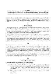 PRAVIDLA pro umisťování přenosných reklamních ... - Český Krumlov