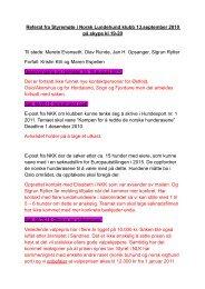Referat fra styremøte avholdt på Skype 13. september 2010 - Norsk ...