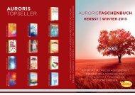 AURORIS TOPSELLER - Brockhaus Commission