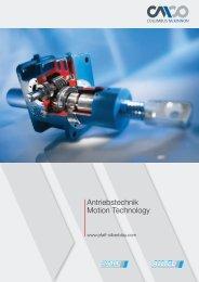 Antriebstechnik Motion Technology - Pfaff-silberblau