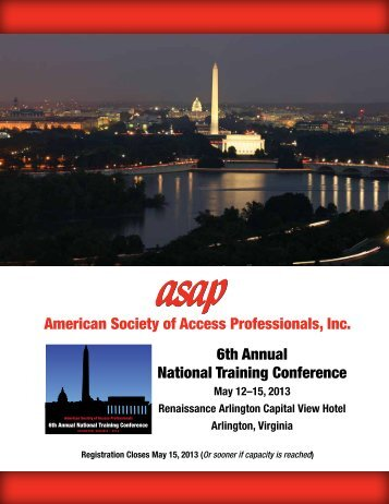 General Information - American Society of Access Professionals