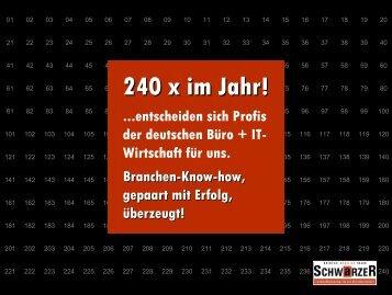 240 x im Jahr! - tat SCHWARZER
