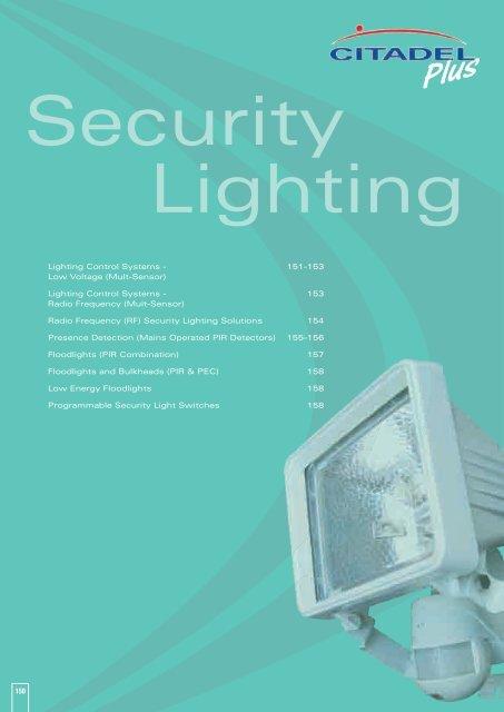 150 Lighting Control Systems - 151-153 Low Voltage ... - WF Senate