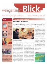 Ausgabe 42/2011 - Weingarten im Blick