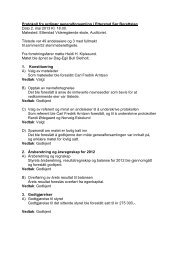 Protokoll fra ordinær generalforsamling i Etterstad Sør ... - Herborvi.no