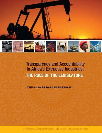 Transparency and Accountability In Africa's Extractive Industries ...