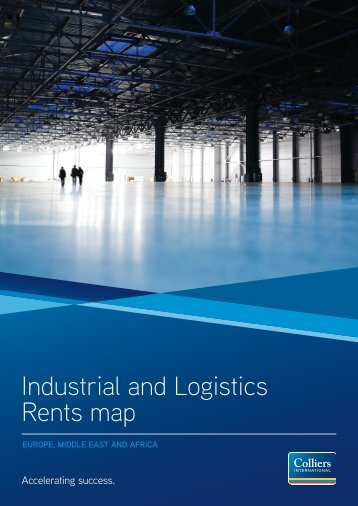 Industrial and Logistics Rents map - Colliers