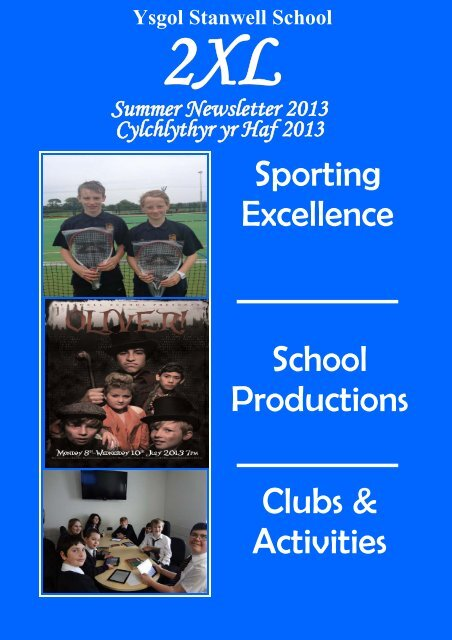 to download a copy of this Newsletter - Stanwell School
