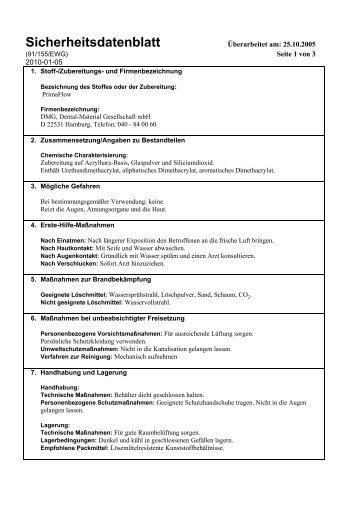 7287876 sicherheitsdatenblatt.pdf - Dentabo.de