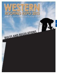 Rules and Regulations - Western States Roofing Contractors ...