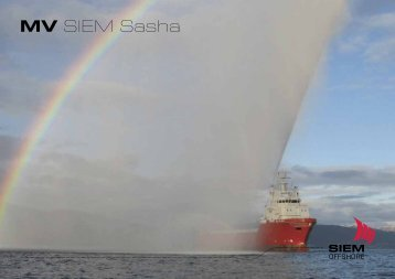 MV SIEM Sasha - Siem Offshore AS