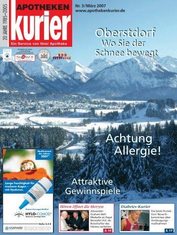 Achtung Allergie! Achtung Allergie! Oberstdorf Oberstdorf  - Feierabend