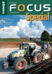 Issue May 2010 www.fendt-isu.com www fendt isu com - AGCO GmbH