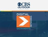 Sacramento Digital Media Kit - CBS Outdoor