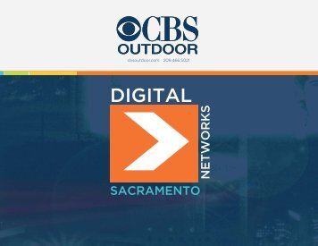 Sacramento Digital Media Kit - CBS Outdoor