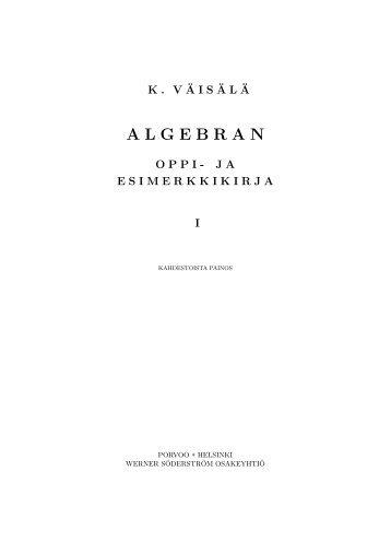 Kirjan teksti