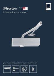 Informations produits (PDF) - ECO-Schulte