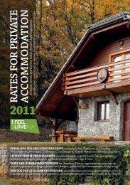 Katalog zasebnih nastanitev 2011 - Zavod GSD