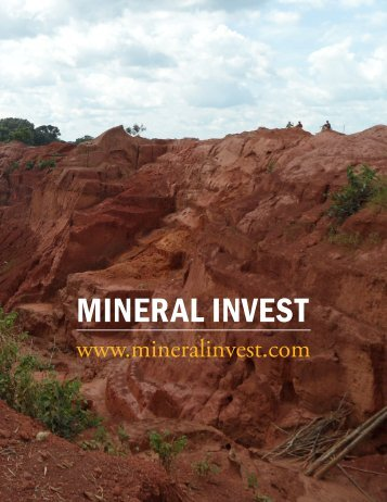 MINERAL INVEST - The International Resource Journal