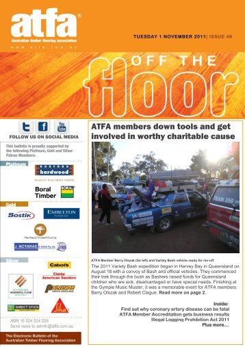 Off The Floor Issue 49 - The Australian Timber Flooring Association