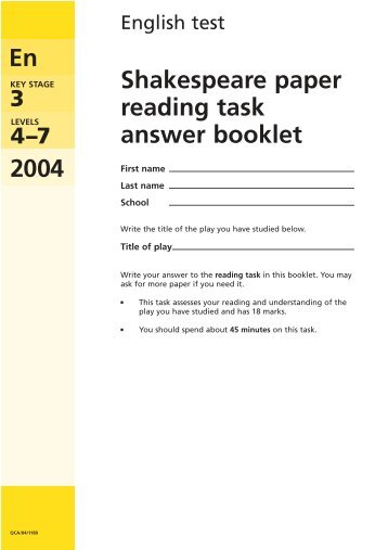 emaths science papers ks3 Ks3 sats papers have been replaced with formal teacher assessments in each  of the national curriculum subjects: english maths science history.