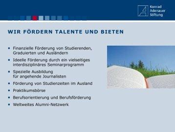 Konrad-Adenauer-Stiftung - FaVeVe