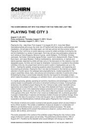 PLAYING THE CITY 3