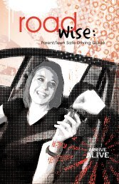 Road Wise Parent/Teen Safe Driving Guide - Missouri Department ...