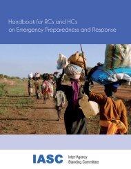 The IASC Handbook for RCs and HCs on Emergency Preparedness ...