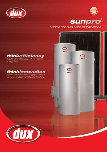 Sunpro Electric Spec Sheet 2AP Version - Nov 2011 ... - Origin Energy