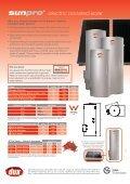 Sunpro Electric Spec Sheet 2AP Version - Nov 2011 ... - Origin Energy - Page 2