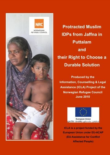 Protracted Muslim IDPs from Jaffna in Puttalam and their Right to ...