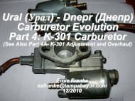 K-301 Carburetor - Good Karma Productions