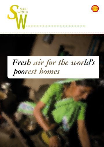 Fresh air for the world's poorest homes Fresh air for the ... - Shell